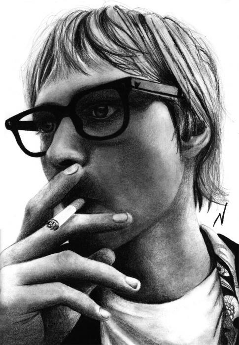 Kurt Cobain par Catarina